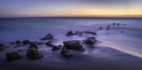 1835mm d750 florida lowdermilkpark naples nikkor nikon beach longexposure rocks southwestflorida sunset gulfofmexico