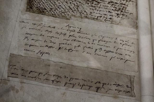 Pensées, Pascal, Manuscrit autographe, entre 1656 et 1662, BnF, Manuscrits - Exposition Blaise Pascal à la Bibliothèque nationale de France