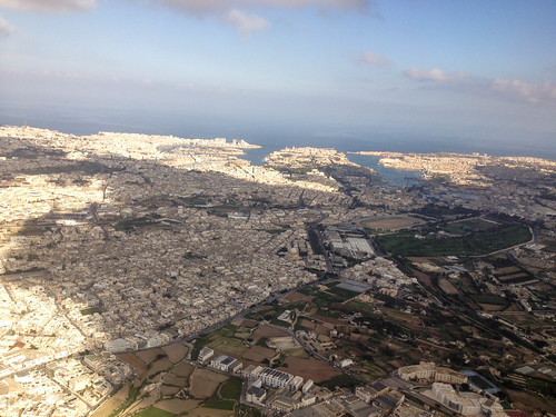 Valletta from the air | by BlackDaffodil