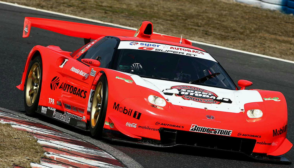 Honda Nsx Of Autobacs Racing Team Aguri Super Gt 2004 06