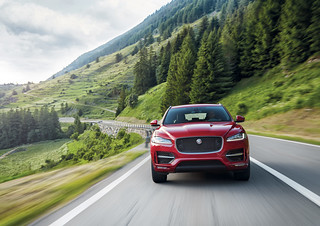 The all-new Jaguar F-PACE | Location | by jaguarmena