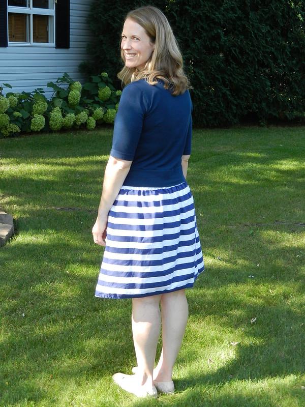 Astoria and Everyday Skirt back