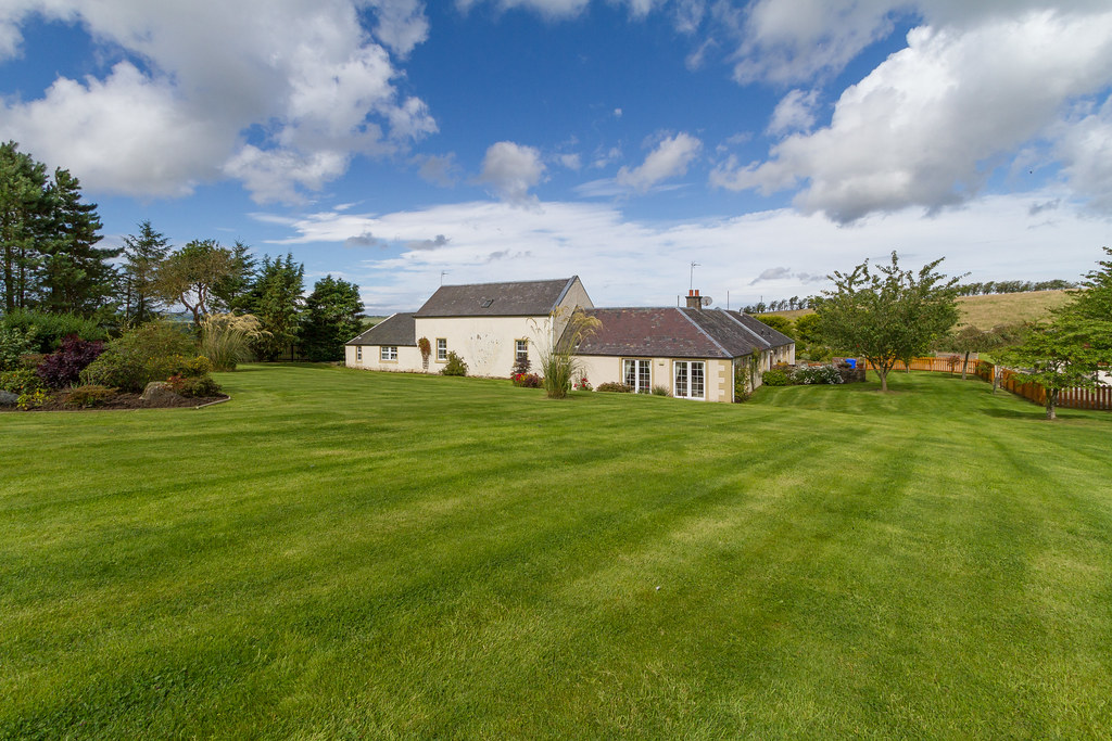 CKD Galbraith offers for sale beautiful Ayrshire country house with own grazing land