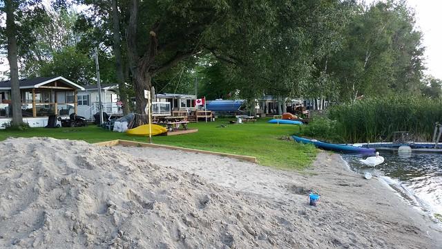 La Petite Plage Du Camping. 2015-08-26 16.46.23