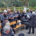 Der Chor der Banater Schwaben Karlsruhe umrahmt die Veranstaltung