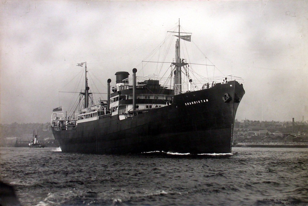 'Shahristan' on sea trials