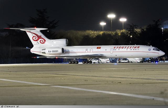 Tupolev Tu-154M Kyrgyzstan Government EX-00001