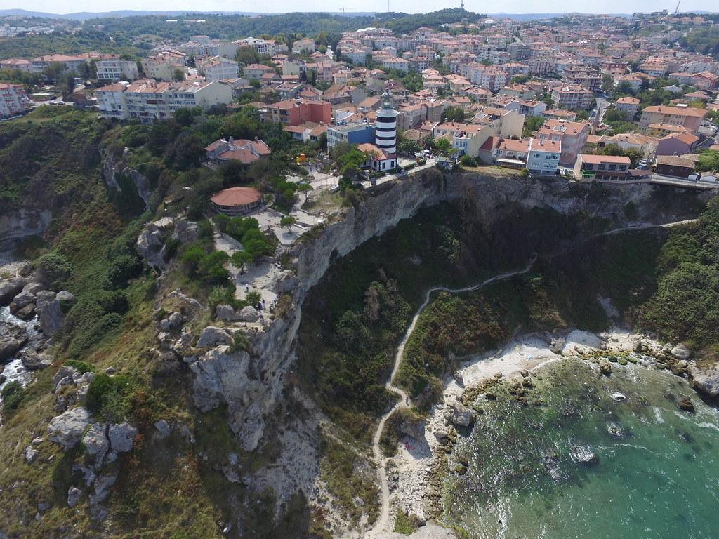 Şile from the air