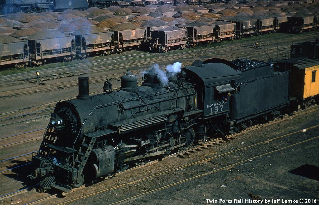 Duluth, Missabe & Iron Range Railway 2-8-0 Steam Locomotiv