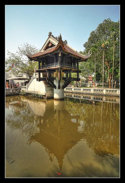 Hanoi VN -  Chùa Một Cột - One Pillar Pagoda 02