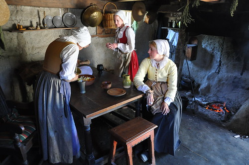 Plimoth Plantation Women in a Kitchen 3 | by Amaury Laporte