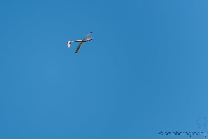Rodney's glider.