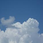 夏。天。藍