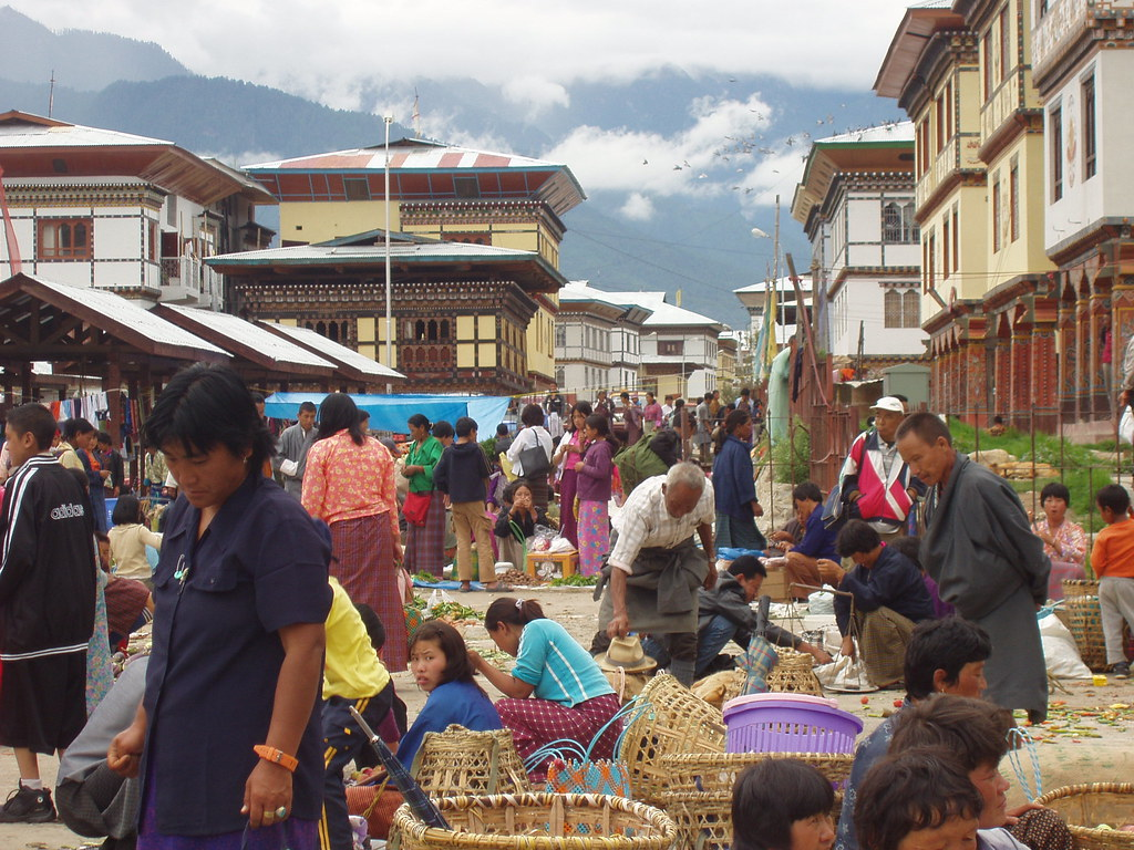 Market, Bhutan