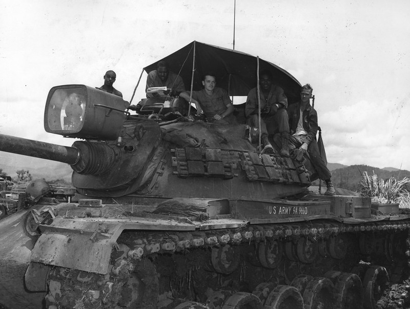 M48A3 Patton i Vietnam
