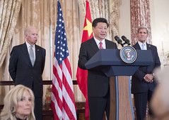 Chinese President Xi Delivers Remarks at a State Luncheon in His Honor at the State Department