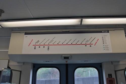 Link Red Line strip map