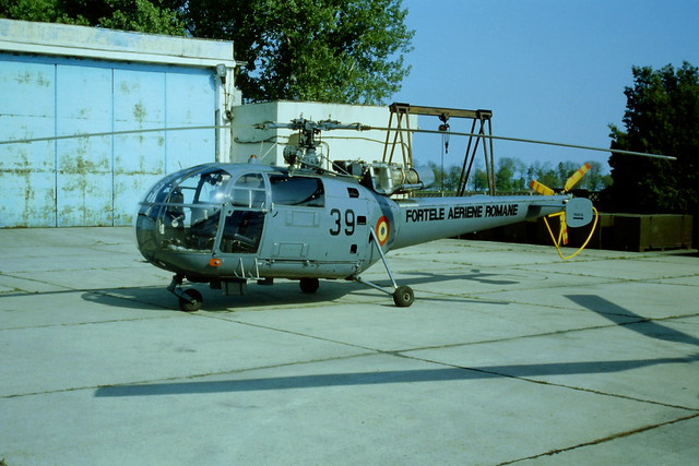 IAR-316B 39 c/n ...Romanian-AF/ FAR. Tuzla, Romania, 03-05-1999.