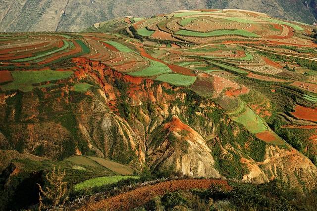 Dongchuan Red Land China