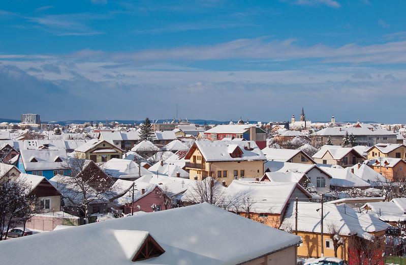 escena invernal