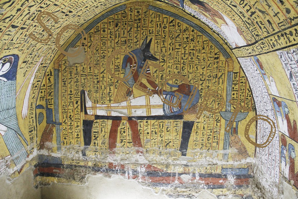 Tumba De Khaemteri Tt220 Luxor Deir El Medinah Egipt