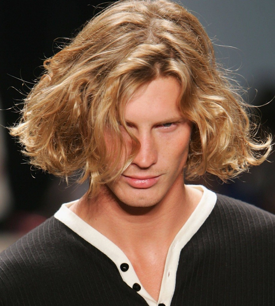Cool Long Blonde Wavy Hairstyles For Men With Long Faces 2017 Flickr Natural Hairstyles Runnerswayorg