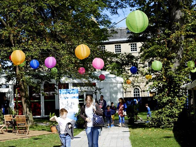 Book Festival lanterns