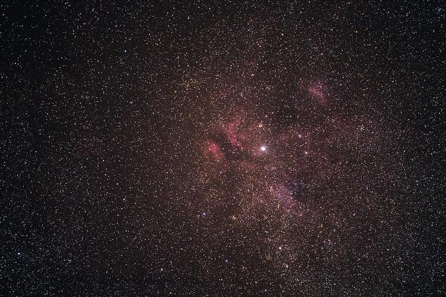 Nébuleuse IC 1318, gamma du cygne