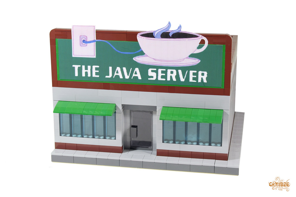 The Java Server | Here is my LEGO version of