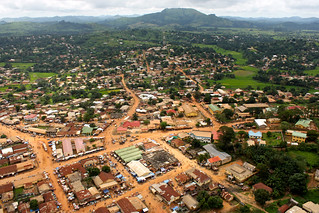 Aerial View of Guéckédou, Guinea | by United Nations Photo