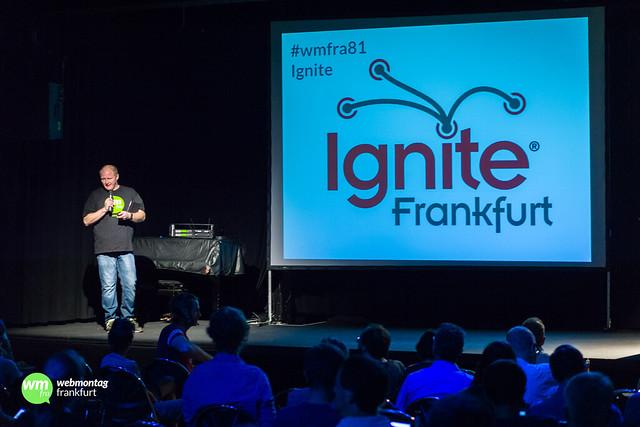 """Willkommen zum 81. Webmontag Frankfurt """"Ignite"""""""