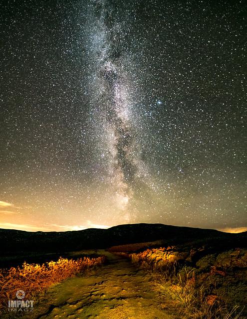 Milky Way above Tolsta
