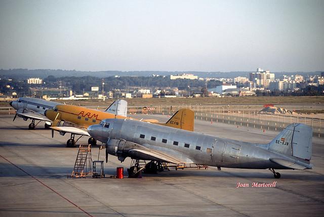 Aeromarket EC-EJB Douglas C-47 Skytrain PMI 06-1988