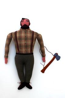Big Man Lumberjack   by Mimi K