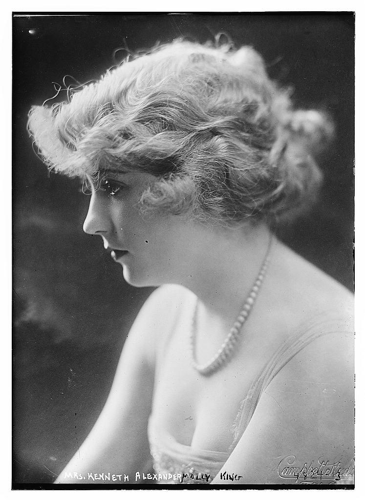 Mrs. Kenneth Alexander (Molly King) (LOC)
