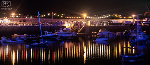 longexposure night marina boats nikon harbour fete jersey channelislands d3000