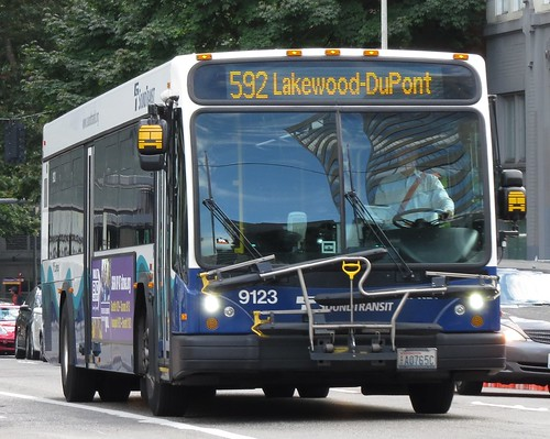 Sound Transit 2012 Gillig BRT 9123P