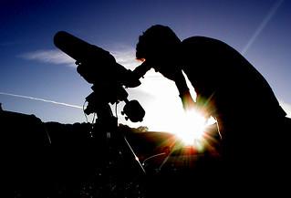 Looking at Saturn