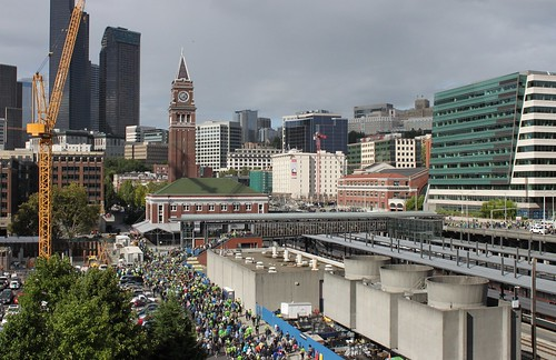 King Street Station from CenturyLink Field
