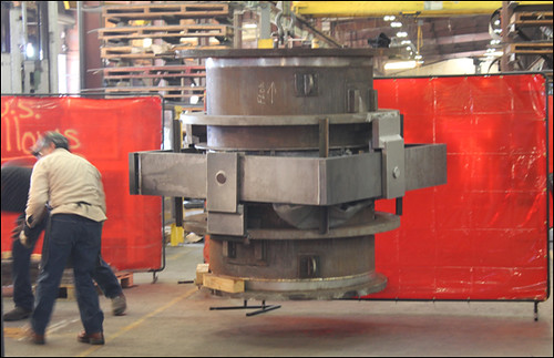 """28"""" Dia. Gimbal Expansion Joint Designed with Floating Rings for a Pipeline in Tennessee"""