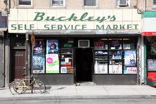 Buckley's Self Service Market, Greenpoint, Brooklyn