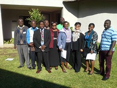 21 September 2015 - 8:03am - ZimLA National Executive Council during a strategic planning meeting in Victoria Falls.