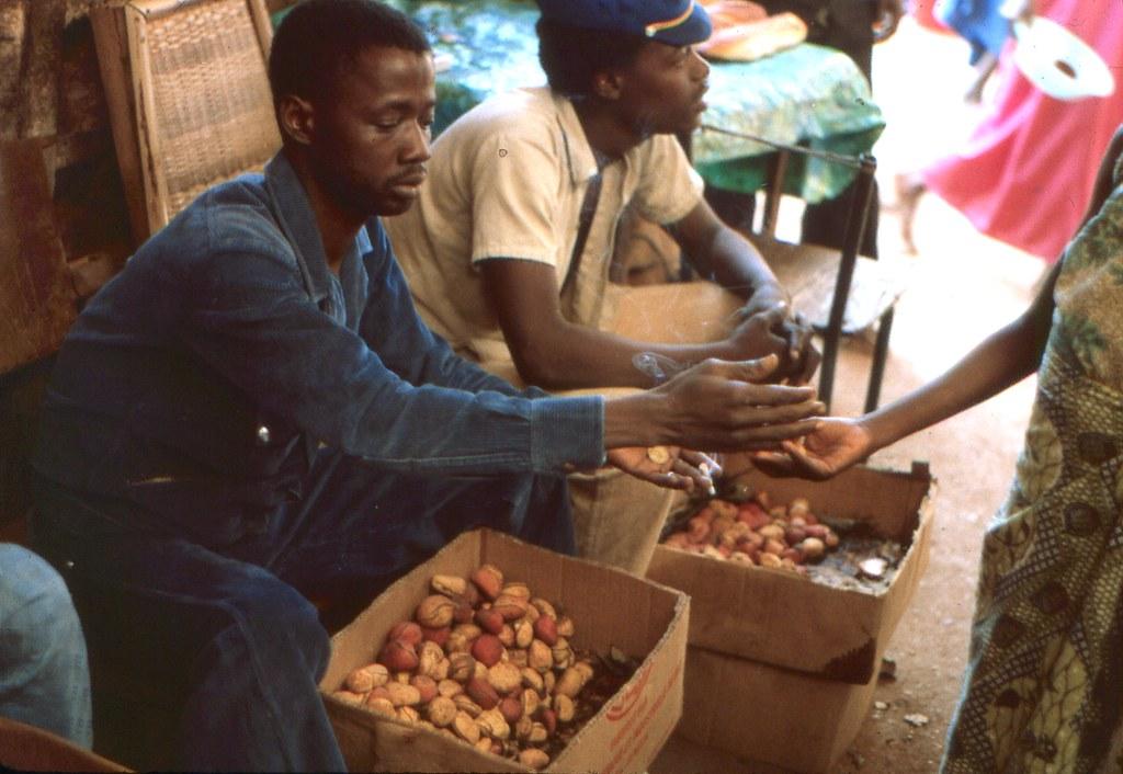 Kola Nut seller at a market in Kédougou, Southeast Sénégal
