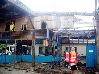 The Biliran Office of the Provincial Engineer sustained extensive damage during Super Typhoon Yolanda | by dilg.yolanda