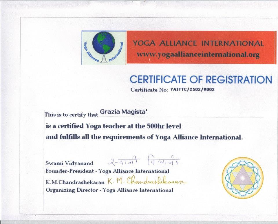 Yoga Alliance International Grazia Magista Grazia Magista Flickr