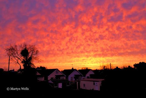 nikon d60 3652015 365 365the2015edition day339365 day339 5dec15 braintree braintreeessex essex red sunrise clouds landscapes landscape england sky theamateursgroup unlimitedphotos