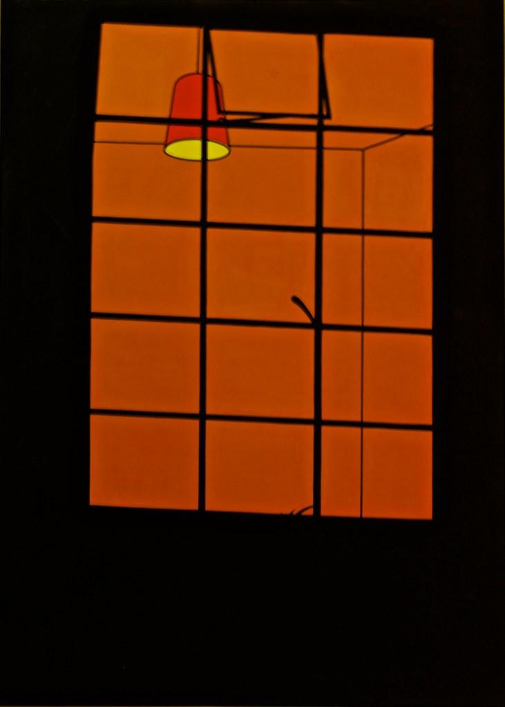 Lit Window (1969) - Patrick Caulfield (1936 - 2005)