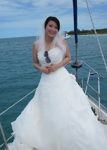 Beautiful Bride All the Way from China | by keywestsailingadventure
