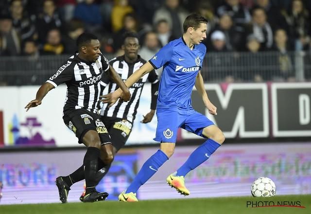 Charleroi-Club Brugge 14-10-2016