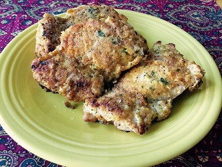 Crusty Oven Fried Chicken Thighs | by spiceaholic80
